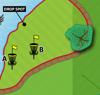 Hole 17 green