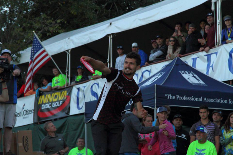 Locastro pictured from the 2014 distance showcase.