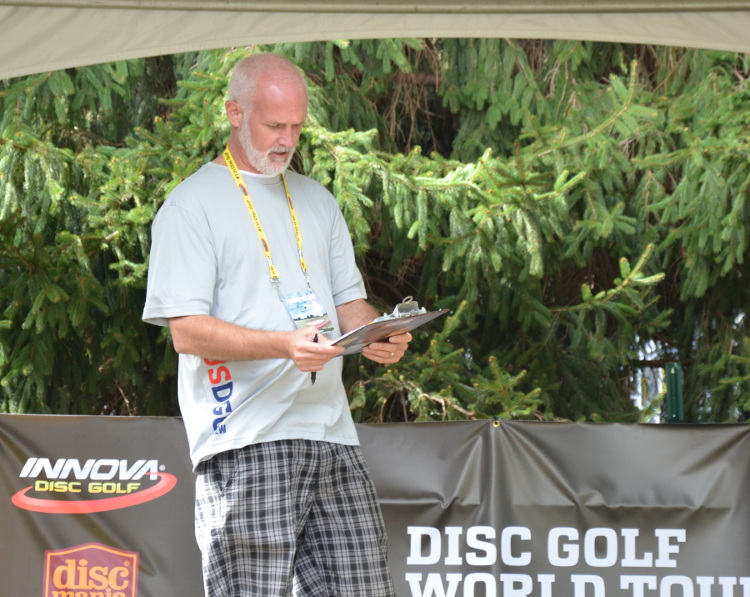After seeing a starter used for the Final 9 of the 1997 Worlds, USDGC officials figured that a starter all four rounds would be something to set the USDGC apart.
